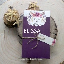 Elissa Wedding İnvitations - ELS 1951