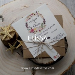 Elissa Wedding İnvitations - ELS 693