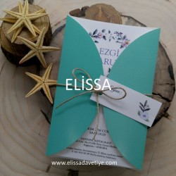 Elissa Wedding İnvitations - ELS 1949