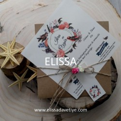 Elissa Wedding İnvitations - ELS 694